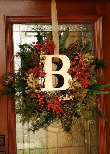 Highlighting your front door for winter